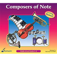 Composers of Note (Gr. 5-8)