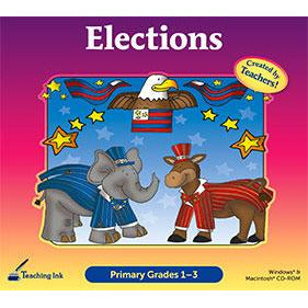 Elections: Primary Grades 1-3 (Download)