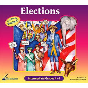 Elections: Intermediate Grades 4-6 (Download)