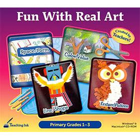 Fun With Real Art: Primary Grades 1-3