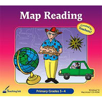 Map Reading: Primary Grades 3–4 (Download)