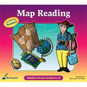 Map Reading: Primary Grades 5–6 (Download)