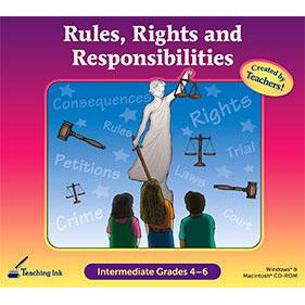 Rules, Rights and Responsibilities (Gr. 4-6) (Download)