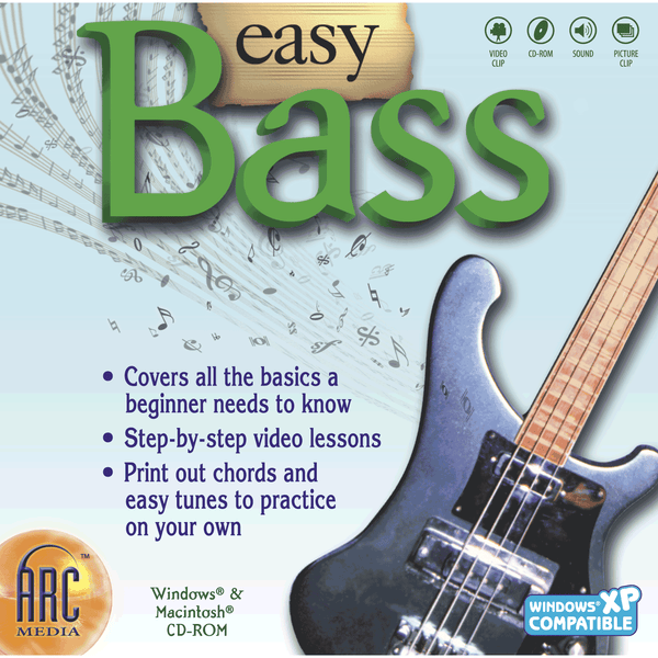 Easy Bass Guitar (Download)
