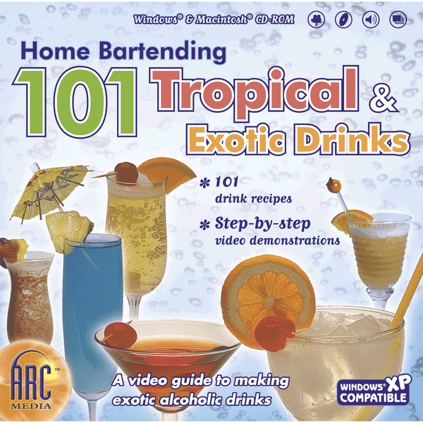 Home Bartending 101 Tropical & Exotic Drinks