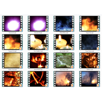 Fire & Fireworks GIF Motion Loops (Download)