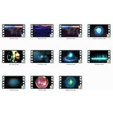 Futuristic & Sci-Fi HD 720p Motion Loops (Download)