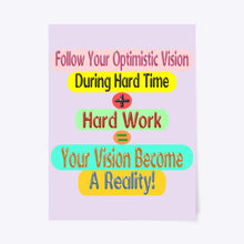 Load image into Gallery viewer, Success Formula Poster Design For Your Home Decoration And Office Decoration7654