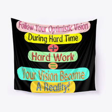 Load image into Gallery viewer, https://healthfitnessposts.site/products/wall-tapestry-success-formula-design-for-decoration-home-and-decoration-office