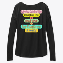 Load image into Gallery viewer, Our Brand Women's Flowy Long Sleeve Tee Relaxed Fit 2