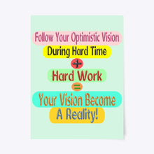 Load image into Gallery viewer, Success Formula Poster Design For Your Home Decoration And Office Decoration 7