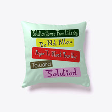 Load image into Gallery viewer, Unique Indoor Pillow Quote For Your Home Design!