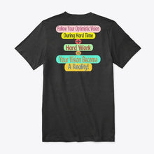 Load image into Gallery viewer, Unique Premium V-Neck Tee Quote Design