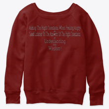 Load image into Gallery viewer, Women's Slouchy Sweatshirt