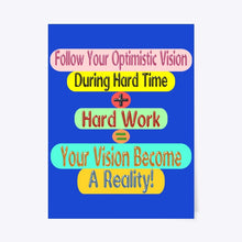 Load image into Gallery viewer, Success Formula Poster Design For Your Home Decoration And Office Decoration 3