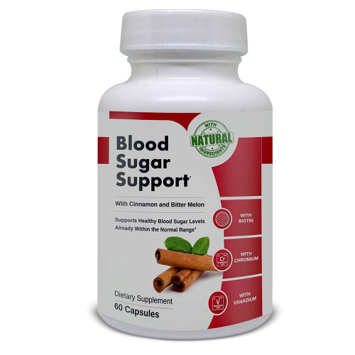 Natural Blood Sugar Health Support