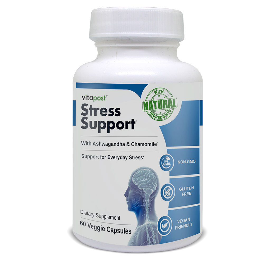 Natural Anti-Stress Health Support