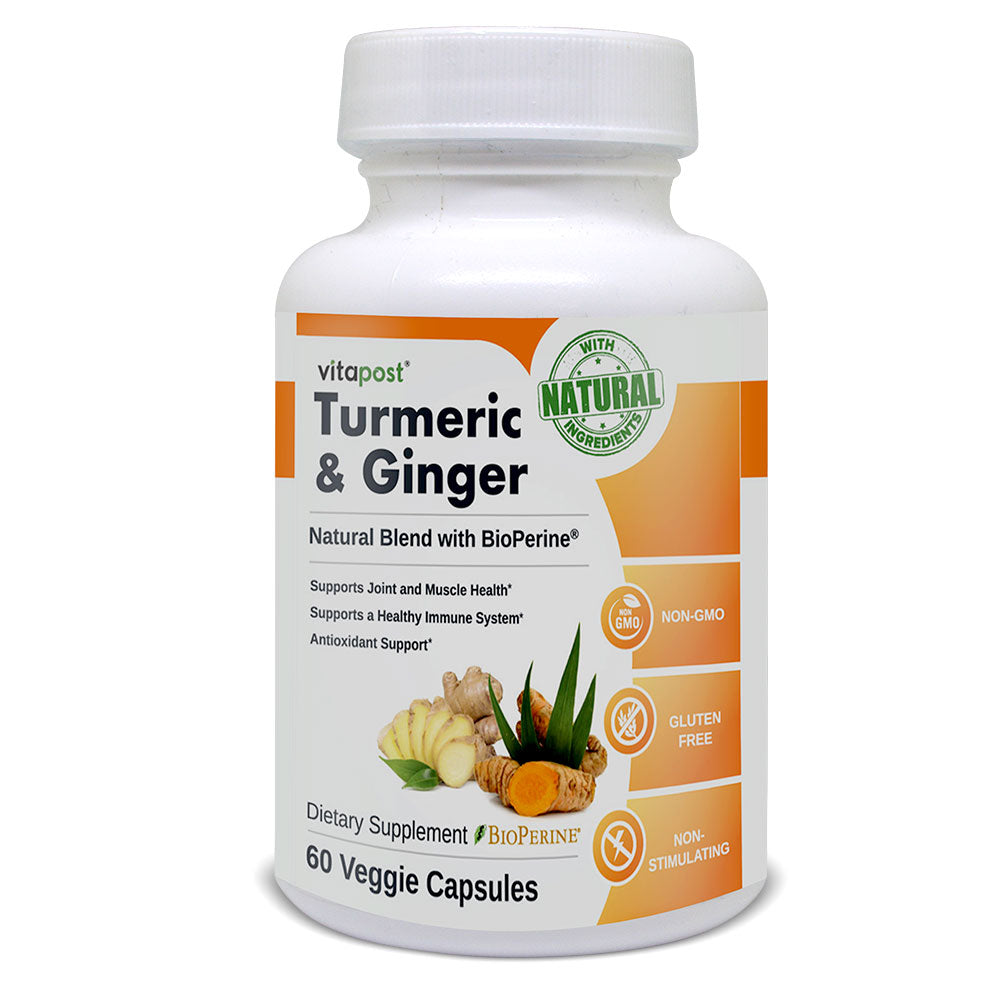 Natural Turmeric & Ginger Healthy Weight loss Support