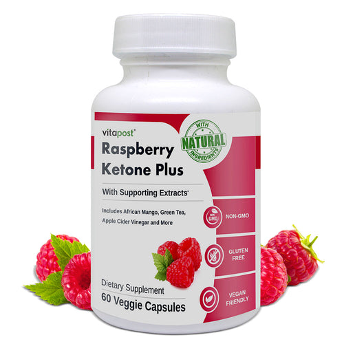 Raspberry Ketone Plus Natural  Healthy Weight Loss Support