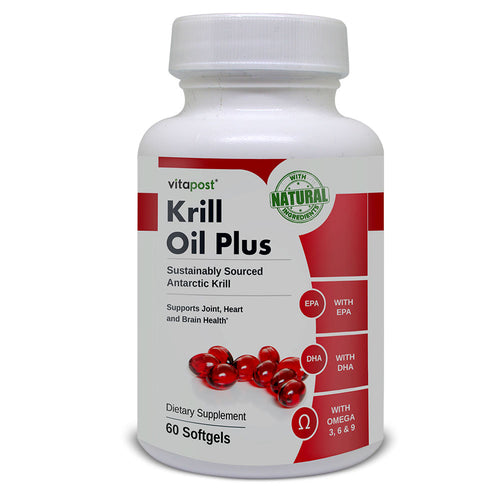 Krill Oil Plus Natural Health Support