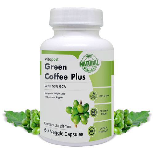 Green Coffee Plus Natural Healthy Weight Loss Support
