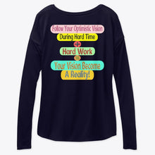 Load image into Gallery viewer, Our Brand Women's Flowy Long Sleeve Tee Relaxed Fit 6