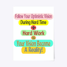 Load image into Gallery viewer, Success Formula Poster Design For Your Home Decoration And Office Decoration 753