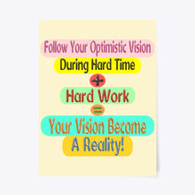 Load image into Gallery viewer, Success Formula Poster Design For Your Home Decoration And Office Decoration 904
