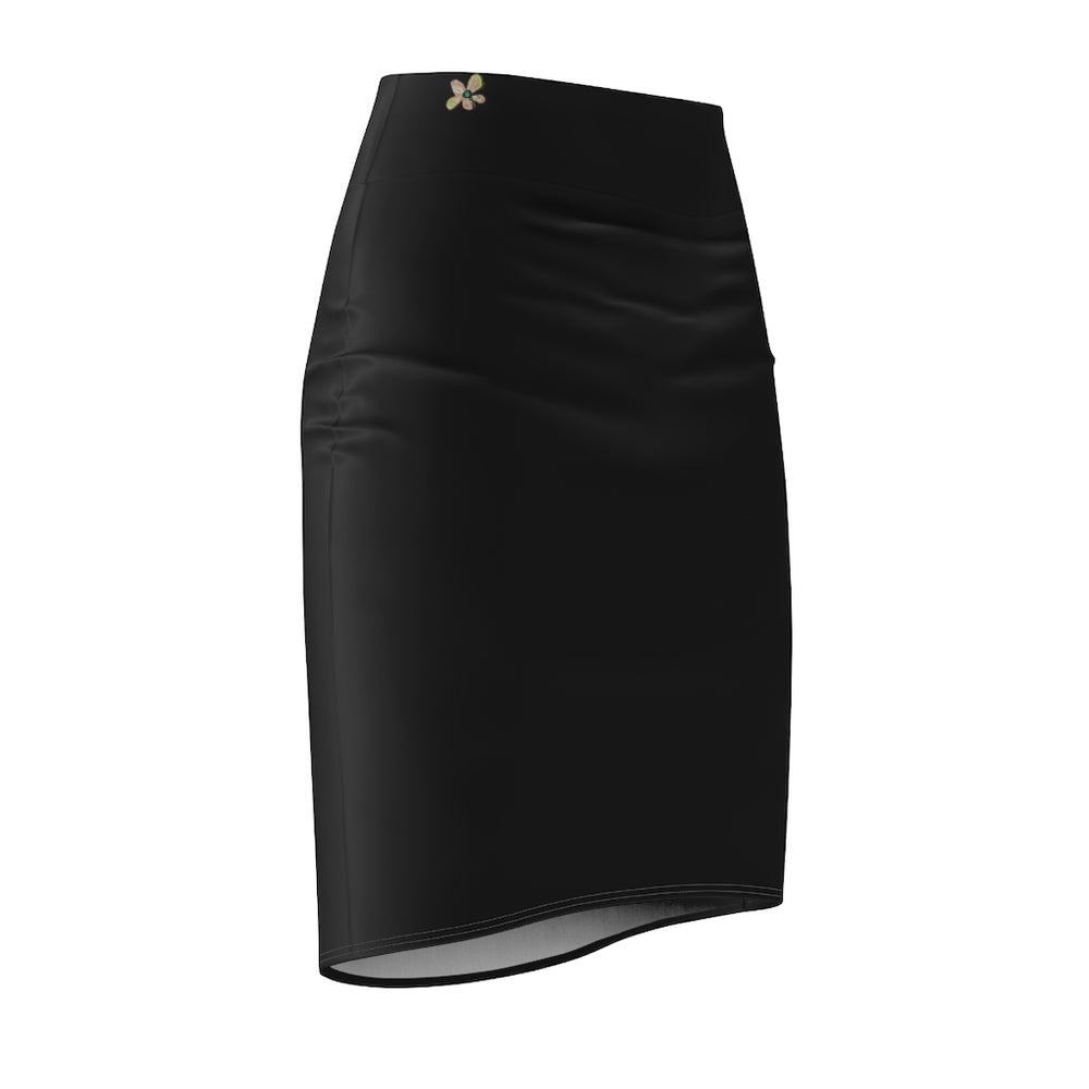 Pencil Skirt Flores Single B2