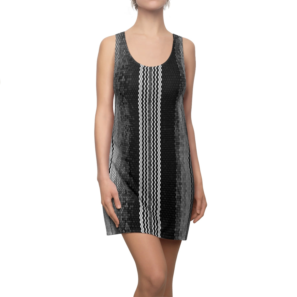 Load image into Gallery viewer, Racerback Dress Poncho Dreams Carbon Serape