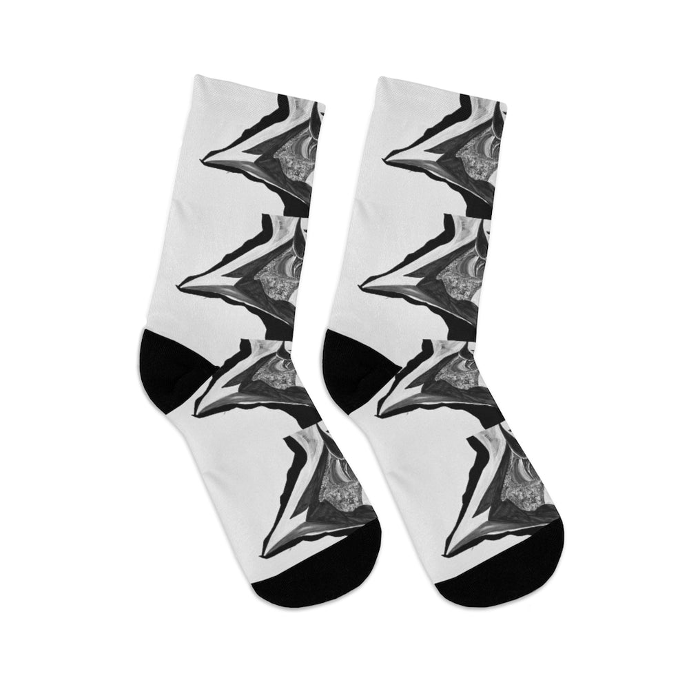 Load image into Gallery viewer, DTG Socks Noir Besos
