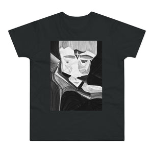 Load image into Gallery viewer, Single Jersey Men's T-shirt Noir Roman