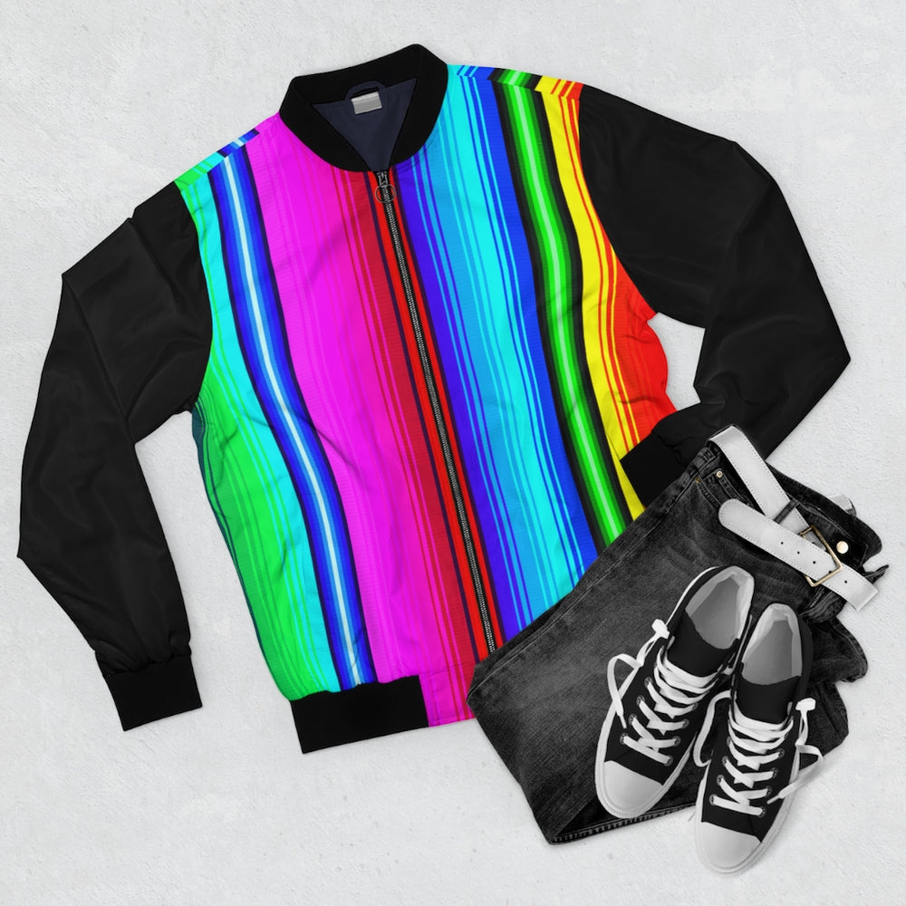 Load image into Gallery viewer, Bomber Jacket Poncho Dreams Rainbow Vest