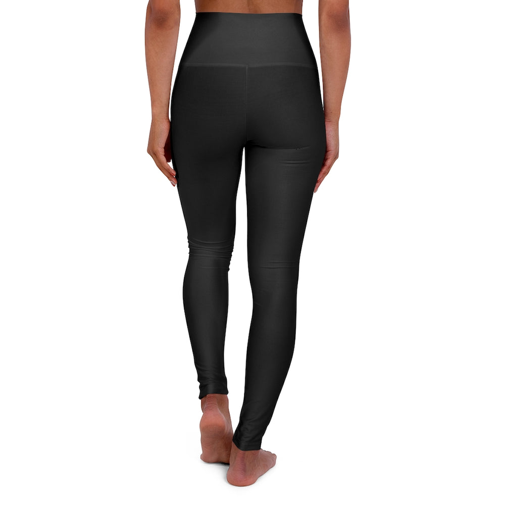 High Waisted Yoga Leggings Black