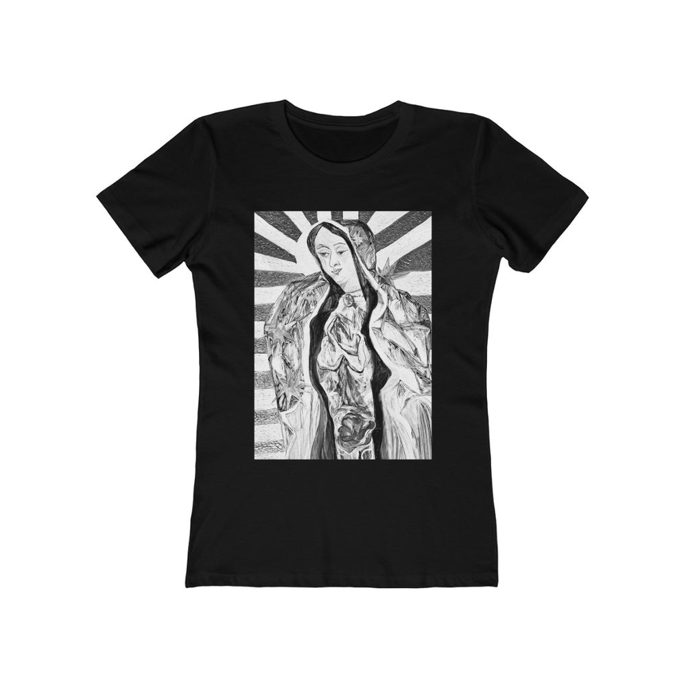 The Boyfriend Tee Noir Guadalupe