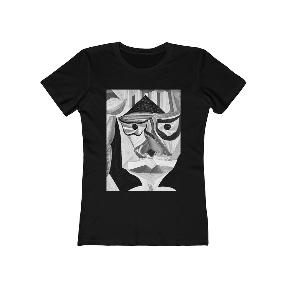 The Boyfriend Tee Noir Felipa