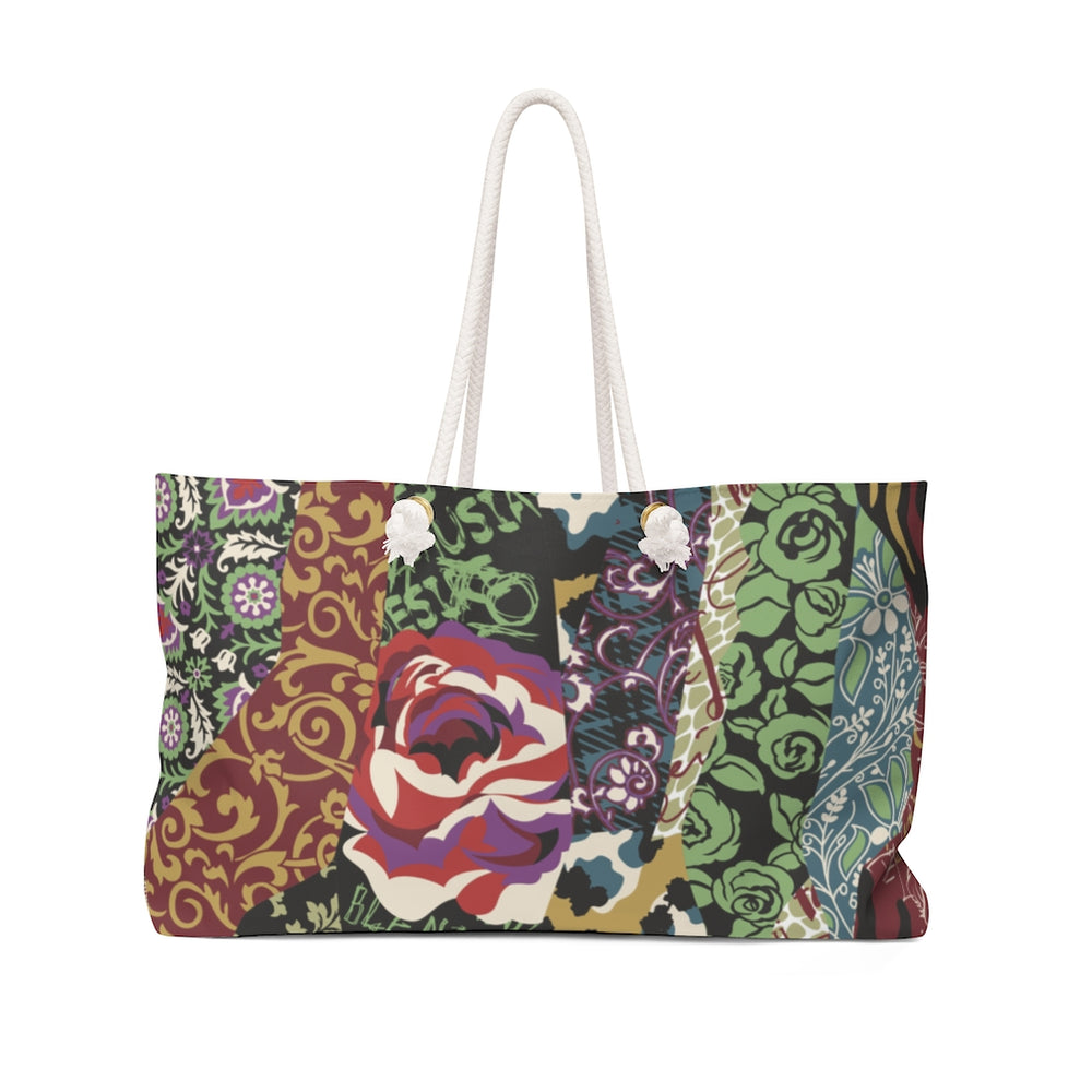 Load image into Gallery viewer, Weekender Bag Mixed Bloom