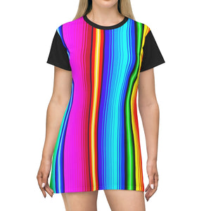 Load image into Gallery viewer, T-Shirt Dress Poncho Dreams