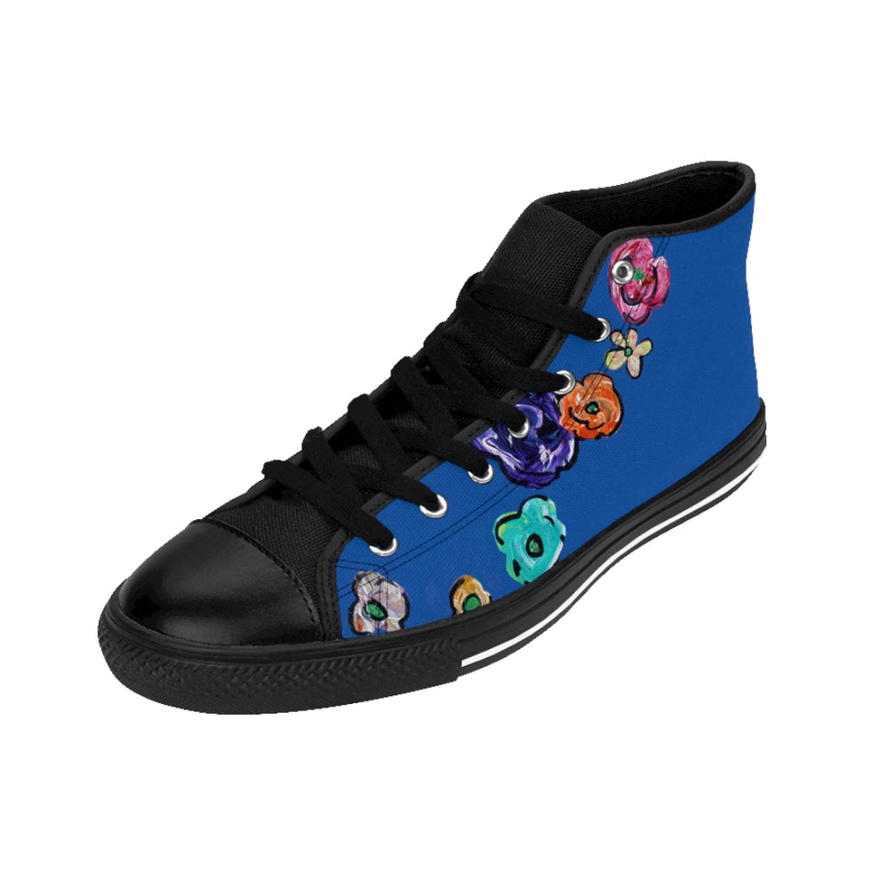Women's Sneakers Flores Blue 2