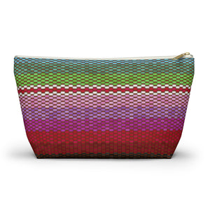 Load image into Gallery viewer, Accessory Pouch w T-bottom Poncho Dreams Horizontal