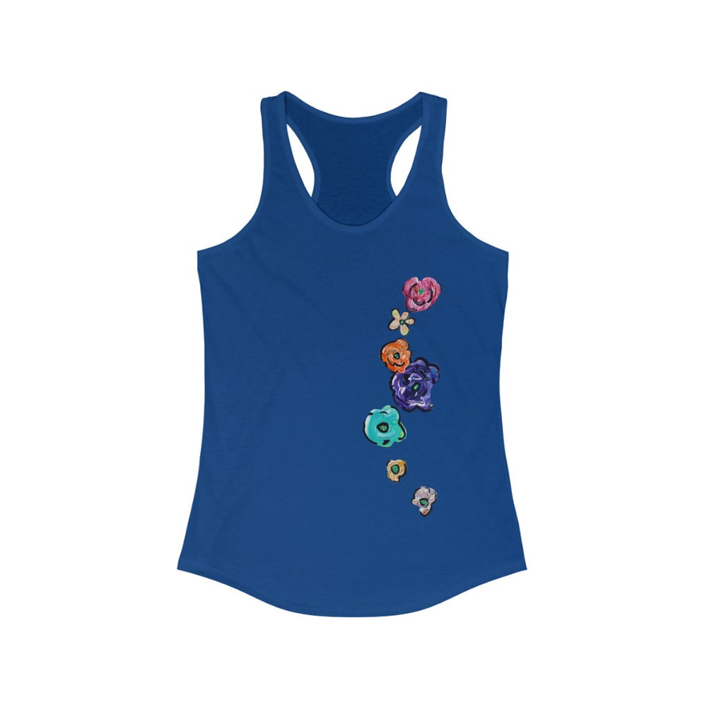Tank-top Racerback Flores Single-Left Ver.5