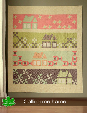 Calling Me Home Quilt Pattern - Digital Download
