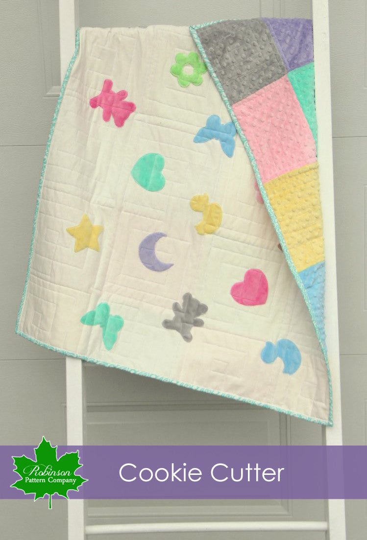 Baby Quilt Patterns.Cookie Cutter Baby Quilt Pattern Printed Instructions