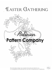 Easter Gathering Hand Embroidery pattern