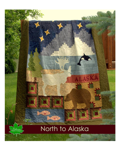 North to Alaska Quilt Pattern - Printed Instructions