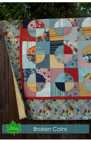 Broken Coins Quilt Pattern - Digital Download