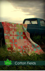 Cotton Fields Quilt Pattern - Digital Download