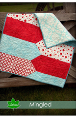 Mingled Baby Quilt Pattern - Digital Download