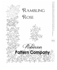Rambling Rose Hand Embroidery pattern