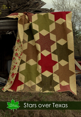 Stars Over Texas Quilt Pattern - Digital Download